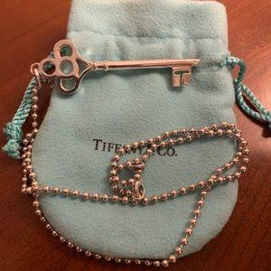 Tiffany & Co. Crown Key necklace